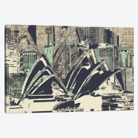 Down Under Canvas Print #KMR47} by Kyle Mosher Canvas Wall Art