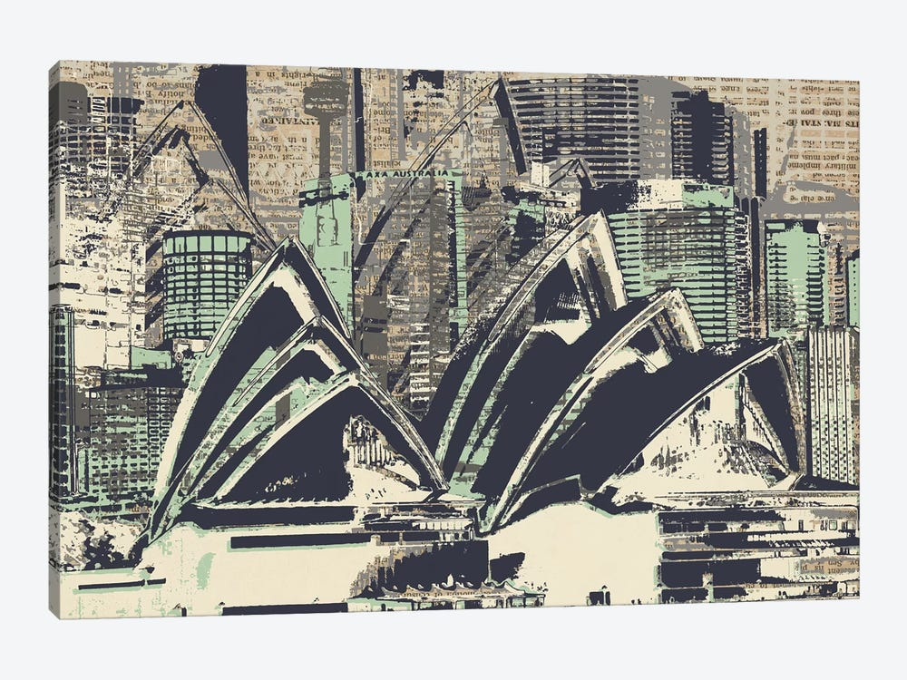 Down Under by Kyle Mosher 1-piece Canvas Artwork