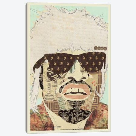 Andre 3000 Canvas Print #KMR48} by Kyle Mosher Canvas Art Print