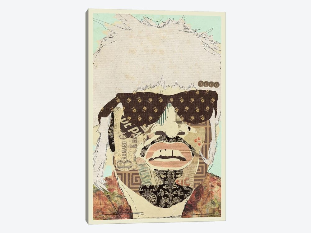 Andre 3000 by Kyle Mosher 1-piece Canvas Art Print