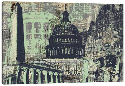 D.C. Canvas Art Print