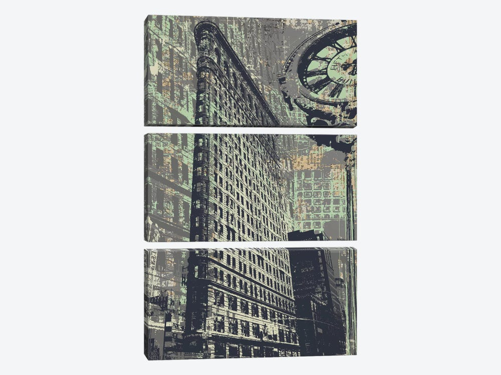 175 Fifth Avenue 3-piece Canvas Print