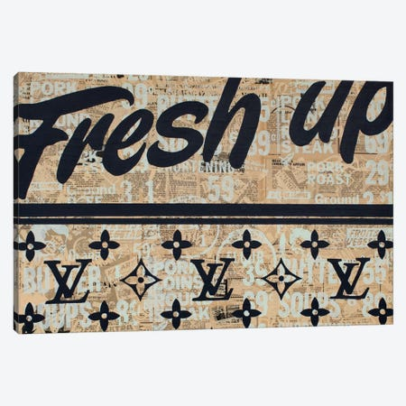 Fresh Up Canvas Print #KMR5} by Kyle Mosher Art Print