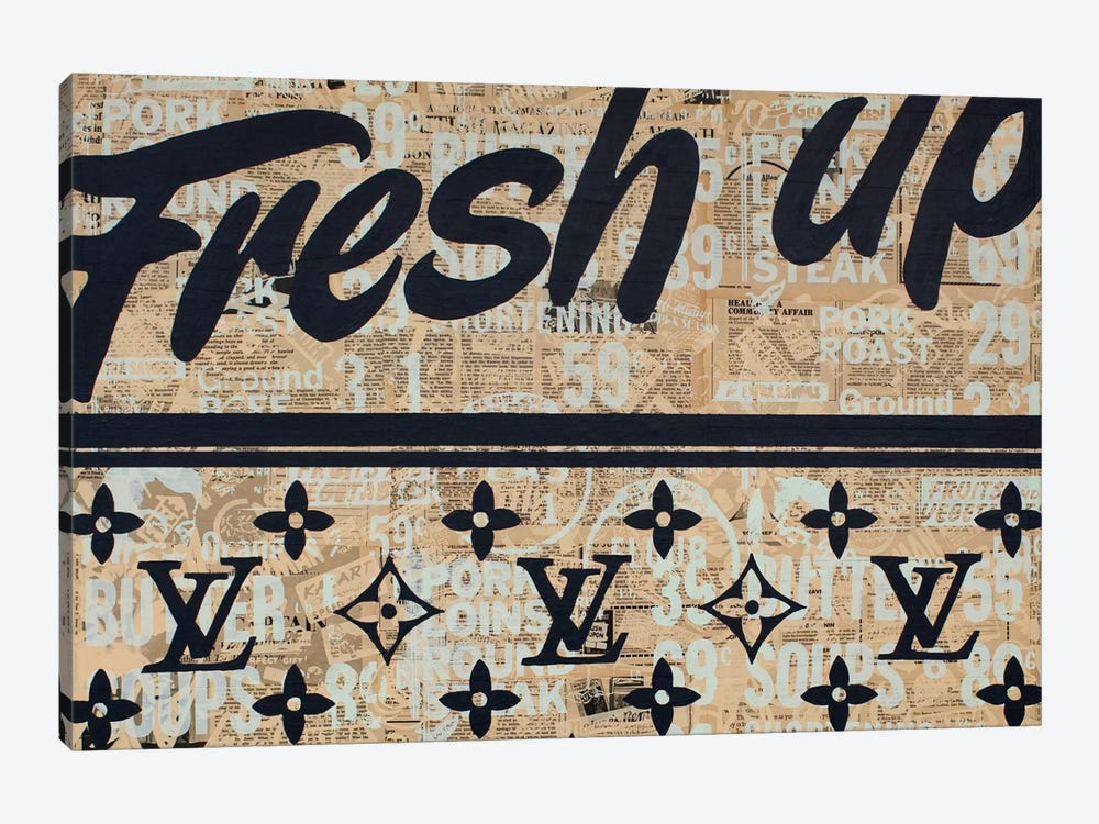 Fresh Up by Kyle Mosher 1-piece Canvas Artwork