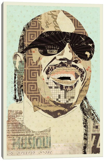 Stevie Wonder Canvas Art Print