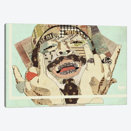 Posty Canvas Print #KMR62} by Kyle Mosher Canvas Print