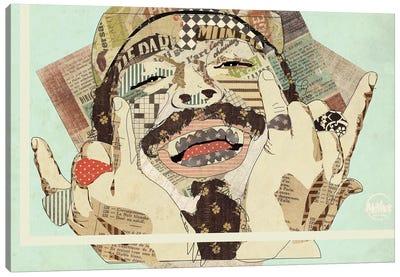Posty Canvas Art Print
