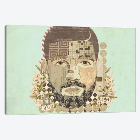 Drake Canvas Print #KMR65} by Kyle Mosher Canvas Artwork
