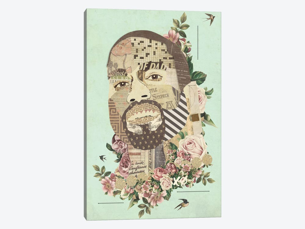 Kanye by Kyle Mosher 1-piece Art Print