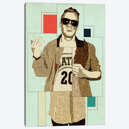 Macklemore Canvas Print #KMR7} by Kyle Mosher Art Print
