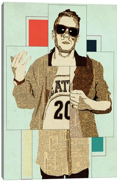 Macklemore Canvas Art Print