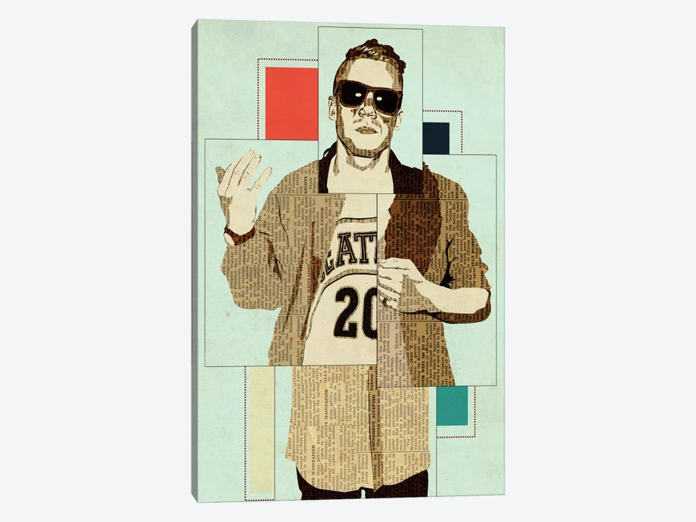 Macklemore by Kyle Mosher 1-piece Canvas Art