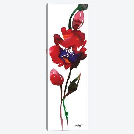 Flower Zen IX Canvas Print #KMS100} by Kathy Morton Stanion Canvas Print