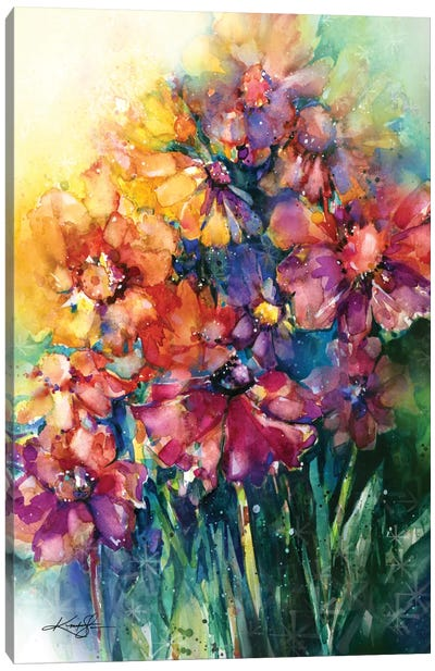 Floral Jubilee II Canvas Art Print