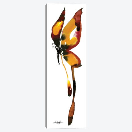 Butterfly Zen X Canvas Print #KMS110} by Kathy Morton Stanion Canvas Artwork