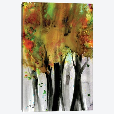 Song Of The Trees XXX Canvas Print #KMS124} by Kathy Morton Stanion Canvas Wall Art