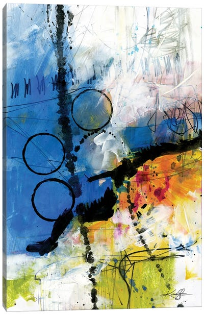 Abstract Composition VII Canvas Art Print