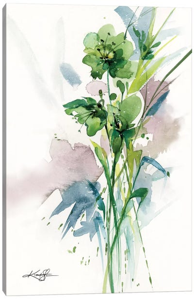 Green Bliss II Canvas Art Print