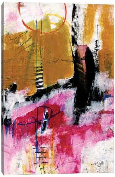 Abstract Composition XIV Canvas Art Print