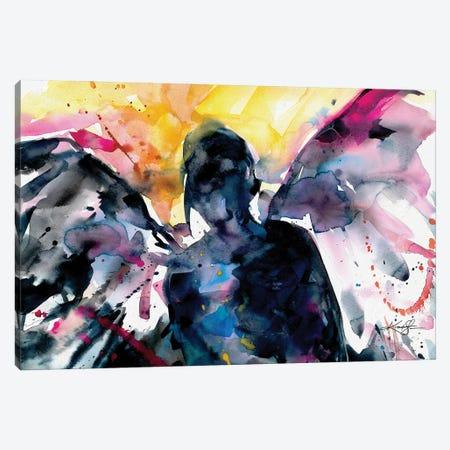 Angel Canvas Print #KMS134} by Kathy Morton Stanion Canvas Art Print