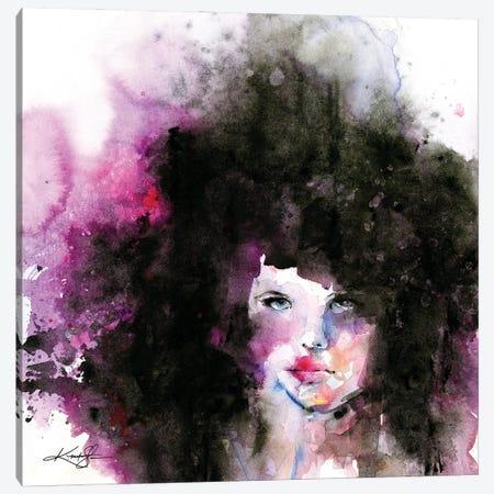 Big Hair II Canvas Print #KMS135} by Kathy Morton Stanion Canvas Art Print