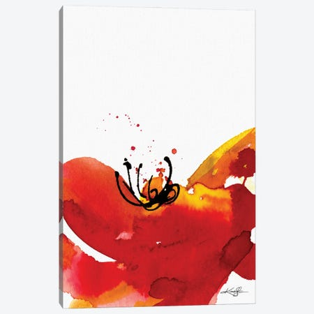 Soul Flower XLVI Canvas Print #KMS138} by Kathy Morton Stanion Canvas Wall Art