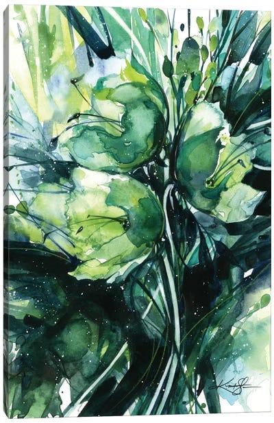 Green Bliss III Canvas Art Print