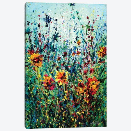 Floral Dream IV Canvas Print #KMS140} by Kathy Morton Stanion Art Print