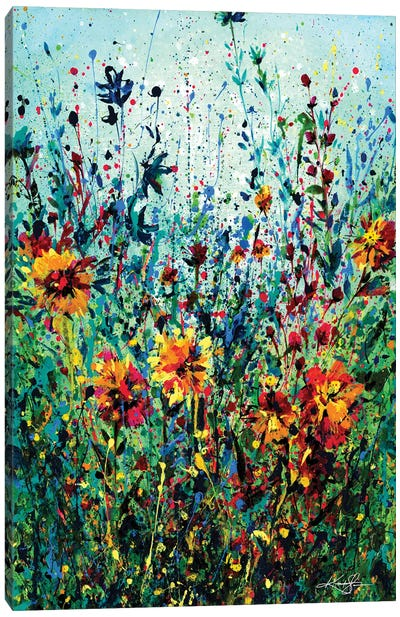 Floral Dream IV Canvas Art Print