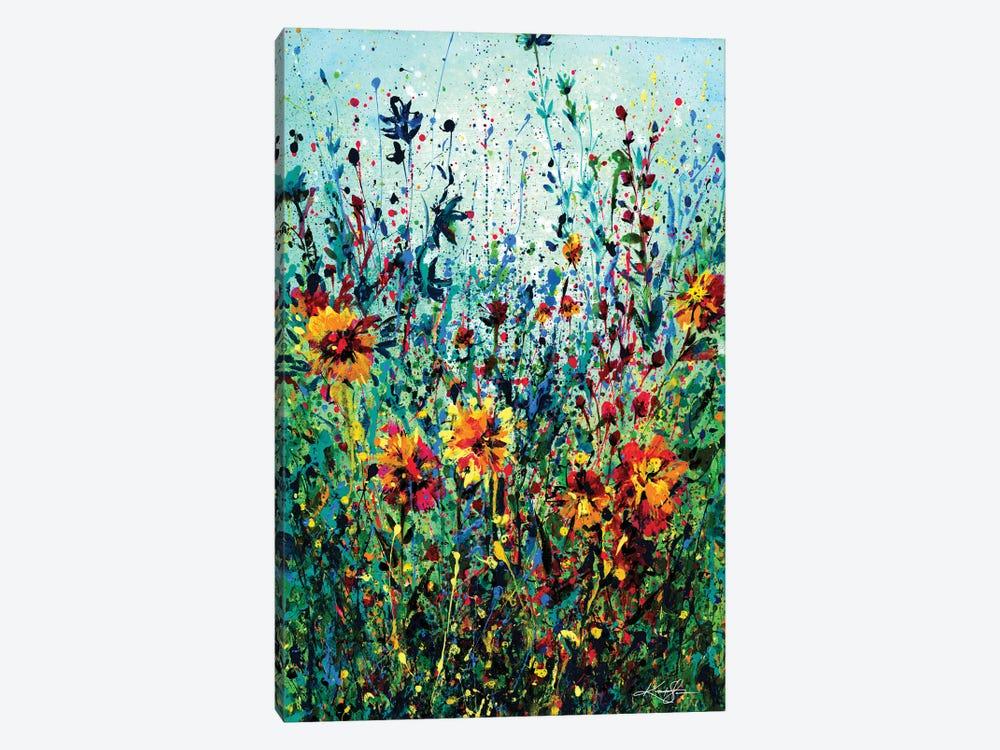 Floral Dream IV by Kathy Morton Stanion 1-piece Canvas Artwork
