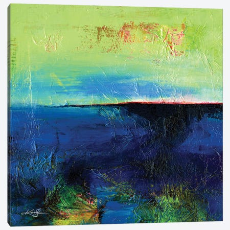 Journey LXXXIII Canvas Print #KMS144} by Kathy Morton Stanion Canvas Art