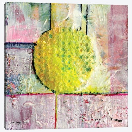 Abstraction I Canvas Print #KMS145} by Kathy Morton Stanion Canvas Artwork