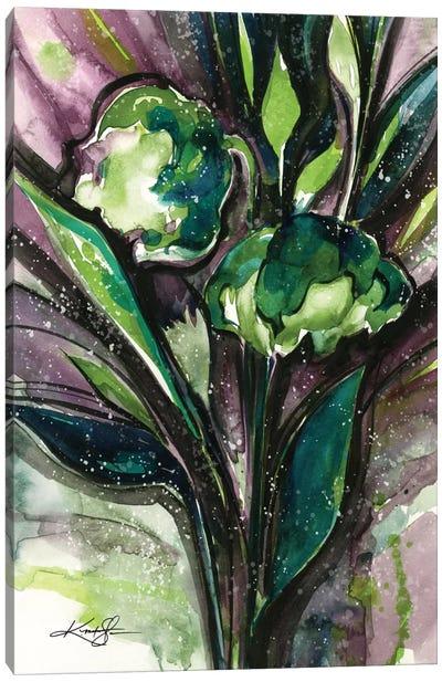 Green Bliss IV Canvas Art Print