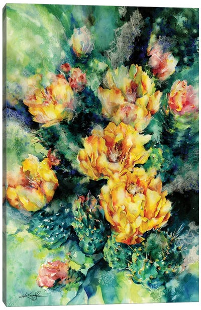 Prickly Pear Canvas Art Print