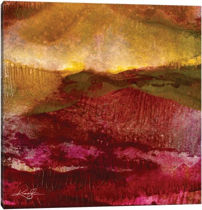 Encaustic Abstract XXV Canvas Art Print