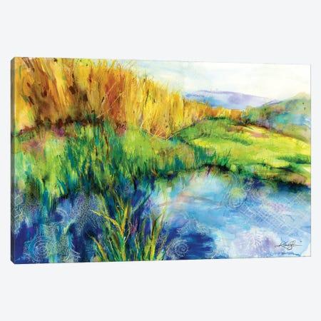 Madrona Marsh Canvas Print #KMS156} by Kathy Morton Stanion Canvas Art Print