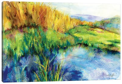 Madrona Marsh Canvas Art Print