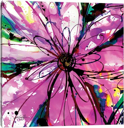 Floral Dance XXX Canvas Art Print