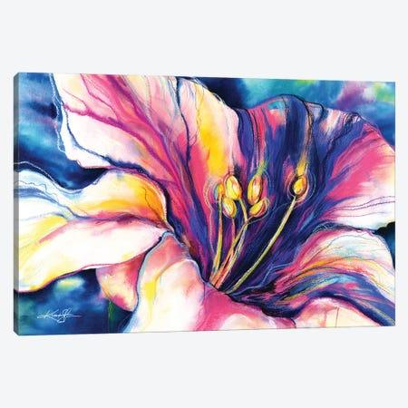 Big Flower Canvas Print #KMS162} by Kathy Morton Stanion Art Print