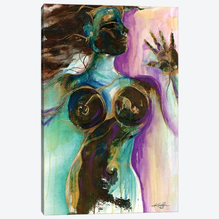 Earth Goddess Canvas Print #KMS165} by Kathy Morton Stanion Canvas Wall Art
