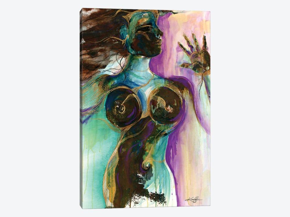 Earth Goddess by Kathy Morton Stanion 1-piece Canvas Art Print