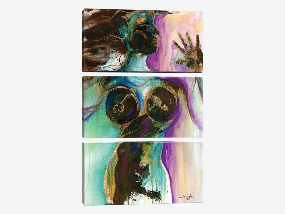 Earth Goddess by Kathy Morton Stanion 3-piece Art Print