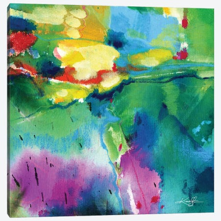 Summer Dance I Canvas Print #KMS167} by Kathy Morton Stanion Canvas Wall Art