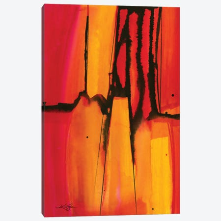 Mystic Wander I Canvas Print #KMS16} by Kathy Morton Stanion Canvas Artwork