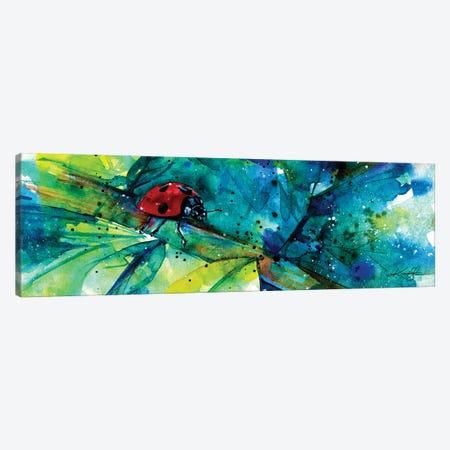 Ladybug I Canvas Print #KMS171} by Kathy Morton Stanion Canvas Wall Art