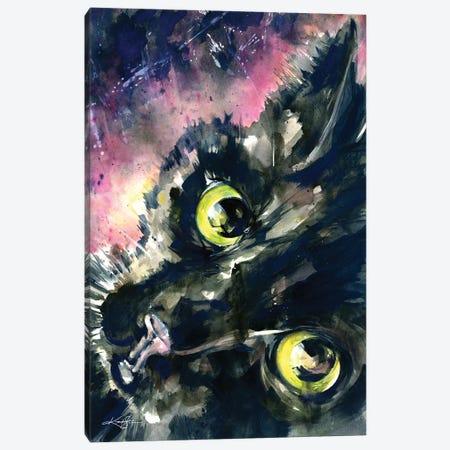 Peek A Boo Canvas Print #KMS173} by Kathy Morton Stanion Canvas Artwork