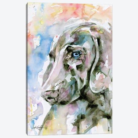 Blue Eyes Canvas Print #KMS174} by Kathy Morton Stanion Art Print