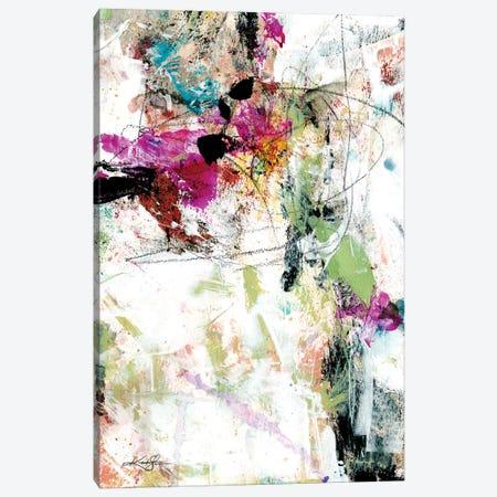 Feeling The Music XXXIII Canvas Print #KMS176} by Kathy Morton Stanion Art Print