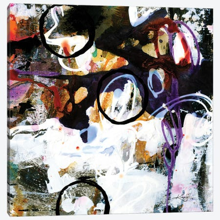 The Music In Abstract XXVII Canvas Print #KMS178} by Kathy Morton Stanion Canvas Artwork