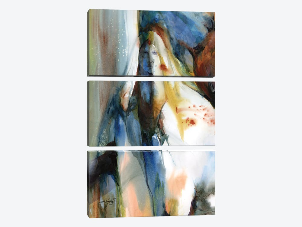 Autumn Spirit by Kathy Morton Stanion 3-piece Canvas Artwork